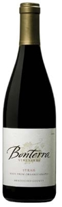 Bonterra Syrah 2006, Menocino County, Made From Organically Grown Grapes Bottle