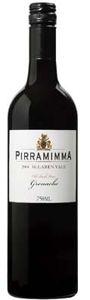 Pirramimma Old Bush Vine Grenache 2004, Mclaren Vale, South Australia Bottle