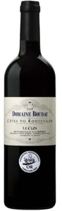 Domaine Boudau Le Clos 2008, Ac Côtes Du Roussillon Bottle