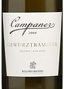Campaner 2008 Bottle