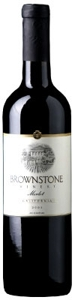 Brownstone Merlot 2006, Lodi Bottle