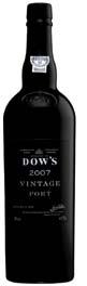 Dow's Vintage Port 2007, Douro Bottle