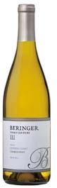 Beringer Third Century Chardonnay 2007, Central Coast Bottle