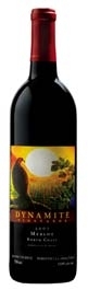 Dynamite Vineyards Merlot 2007, North Coast Bottle