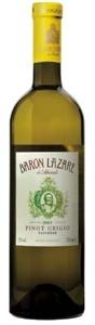 Baron Lazare Pinot Grigio 2008 Bottle