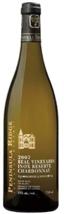 Peninsula Ridge 'inox' Reserve Chardonnay 2007, VQA Beamsville Bench, Beal Vineyards Bottle