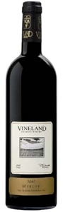 Vineland Estates Merlot 2007, VQA Niagara Peninsula Bottle
