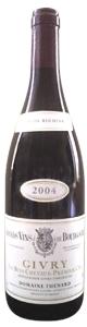 Domaine Thenard Bois Cheveaux Givry 1er Cru 2006, Ac, Préféré Du Roi Henri Iv Bottle
