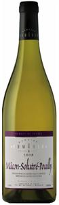 Domaine Romanin Mâcon Solutré Pouilly 2008, Ac Bottle