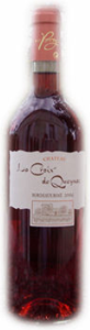 Château La Croix De Queynac Bordeaux Rosé 2009, Ac Bottle