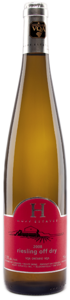 Huff Estates Winery Off Dry Riesling 2008 Bottle