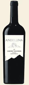 Andeluna Cabernet Sauvignon 2007 2007 Bottle