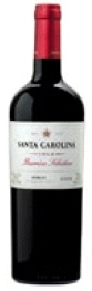 Santa Carolina Barrica Selection Merlot 2008, Rapel Valley Bottle
