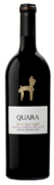 Quara Barrique Aged Reserva Cabernet Sauvignon 2007, Cafayate Valley Bottle