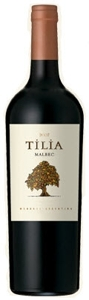 Tilia Malbec 2008, Mendoza Bottle
