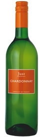 Just Chardonnay, Vin De Pays D'Oc Bottle