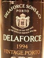 Delaforce Vintage Port 1994 Bottle