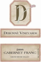 Debonne Vineyards Cabernet Franc 2005 Bottle