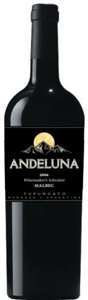 Andeluna Malbec 2006 Bottle