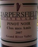 Harpersfield Vineyard Pinot Noir Cios Mes Amis 2006 Bottle