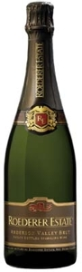 Roederer Estate Brut Sparkling, Anderson Valley, Mendocino, California Bottle