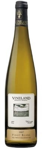 Vineland Estates Pinot Blanc 2007, VQA Twenty Mile Bench, Niagara Peninsula Bottle