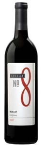 Cellar No. 8 Merlot 2007, California Bottle