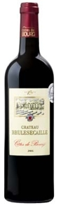 Château Brulesécaille 2006, Ac Côtes De Bourg Bottle