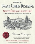 Chateau Grand Corbin Despagne 2007 Bottle