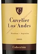 Cuvelier Los Andes Colección 2006, Mendoza Bottle
