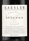 Kaesler Avignon Gsm 2007, Barossa Valley, South Australia Bottle