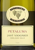 Petaluma Viognier 2007 Bottle