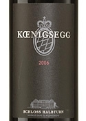 Schloss Halbturn Koenigsegg Red 2006, Burgenland Bottle