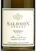 Salomon Undhof Wieden Tradition Grüner Veltliner 2007, Kremstal Bottle