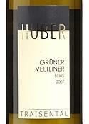 Huber Grüner Veltliner Berg 2007, Traisental Bottle