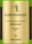 Rudi Pichler Steinriegl Riesling Smaragd 2007 Bottle