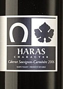 Haras De Pirque Character Cabernet Sauvignon/Carménère 2006, Maipo Valley Bottle