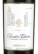 Undurraga Founder's Collection Cabernet Sauvignon 2006, Maipo Valley Bottle