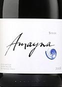Garcés Silva Amayna Syrah 2008 Bottle