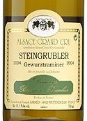 Domaine Barmès Buecher Steingrubler Gewürztraminer 2004, Ac Alsace Grand Cru Bottle