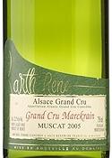 René Barth Marckrain Muscat 2005, Ac Alsace Bottle
