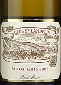 René Muré Clos St. Landelin Vorbourg Pinot Gris 2005, Ac Alsace Grand Cru Bottle