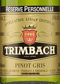 Trimbach Pinot Gris Gris Réserve Personelle 2002 Bottle
