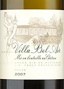 Château Villa Bel Air 2007, Ac Graves Bottle