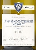 Domaine Ballot Millot & Fils Chassagne Montrachet Morgeot Premier Cru 2006 Bottle