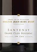 Domaine Jean Marc Morey Santenay Grand Clos Rousseau 1er Cru 2007, Ac Bottle