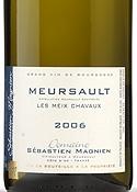 Domaine Sébastien Magnien Meursault Les Meix Chavaux 2006, Ac Bottle