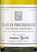 Domaine Servin Montée De Tonnerre Chablis Premier Cru 2007, Ac Bottle