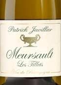 Patrick Javillier Les Tillets Meursault 2006, Ac Bottle