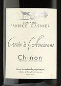 Domaine Fabrice Gasnier Cuvée À L'ancienne 2006, Ac Chinon Bottle